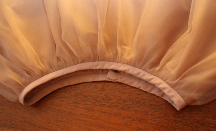 Выкройка детского платья с юбкой из фатина