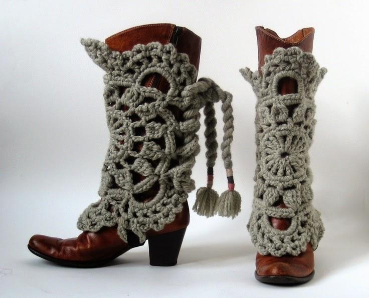 Декор женских зимних сапог своими руками. Оригинальные идеи