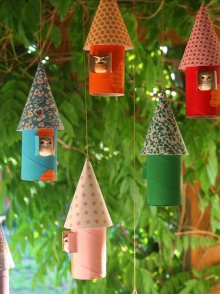 20 лучших идей использования картонных трубочек