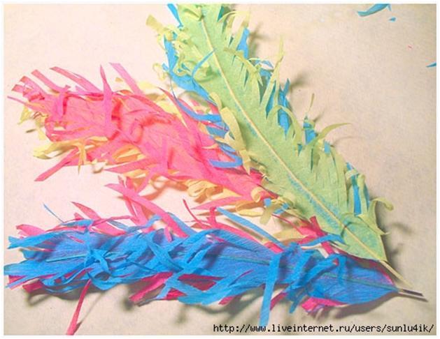 Перья для костюма индейца своими руками 97