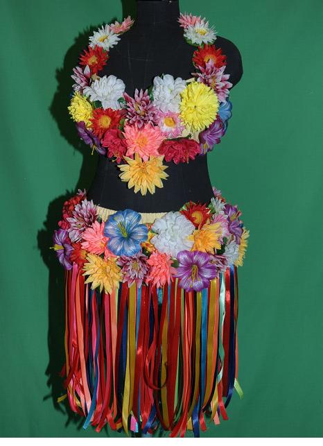 Гавайские костюмы своими руками 119