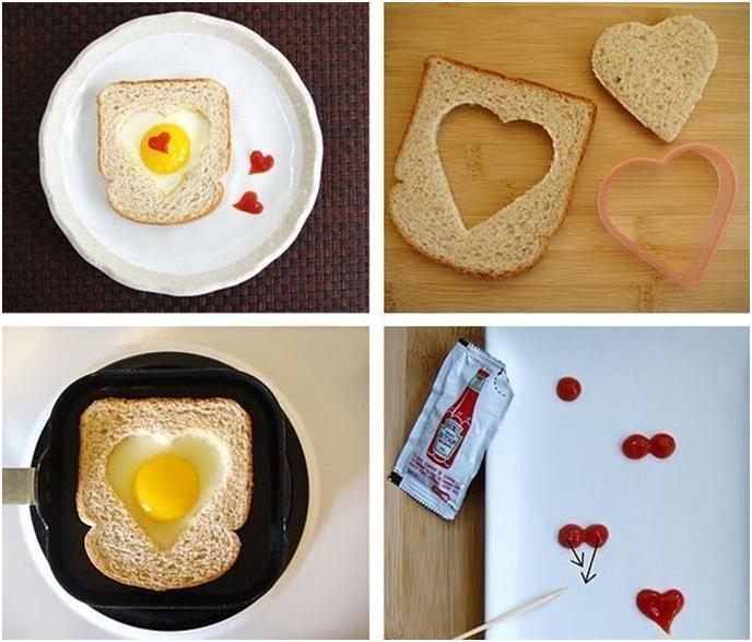 Романтический завтрак для любимого в домашних условиях фото
