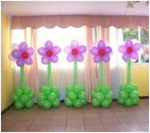 Как сделать цветок воздушных шариков 45