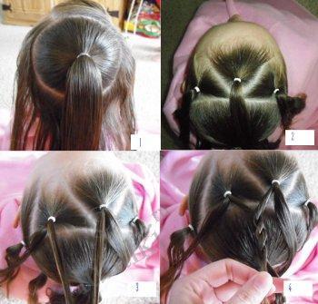 Вечерняя причёска французская коса фото