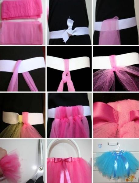 Как сшить платье из фатина своими руками пошагово