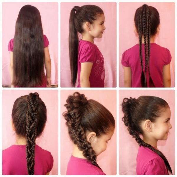 Причёски для девочек в школу как делать