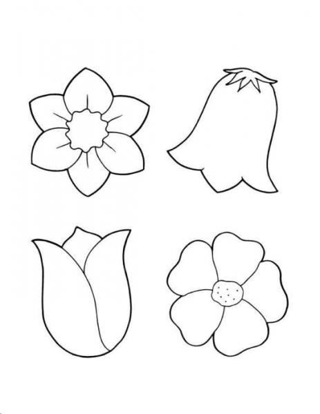 Цветы из бумаги своими руками: схемы и шаблоны